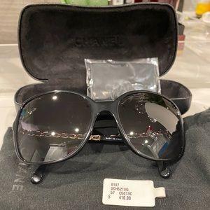 Chanel Lambskin Sunglasses